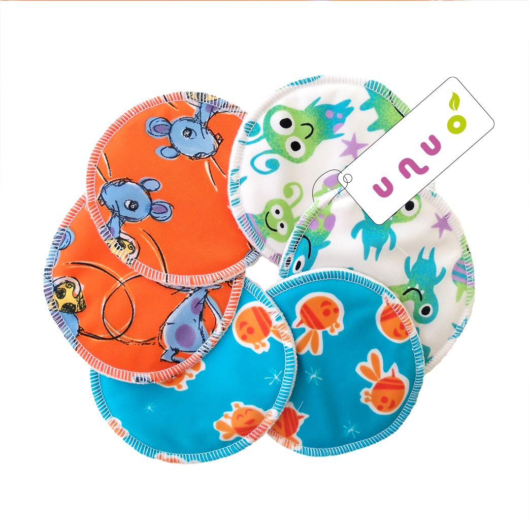 Pul prsní vložky Unuo pár - barevné/obrázkové (Pul prsní vložky)