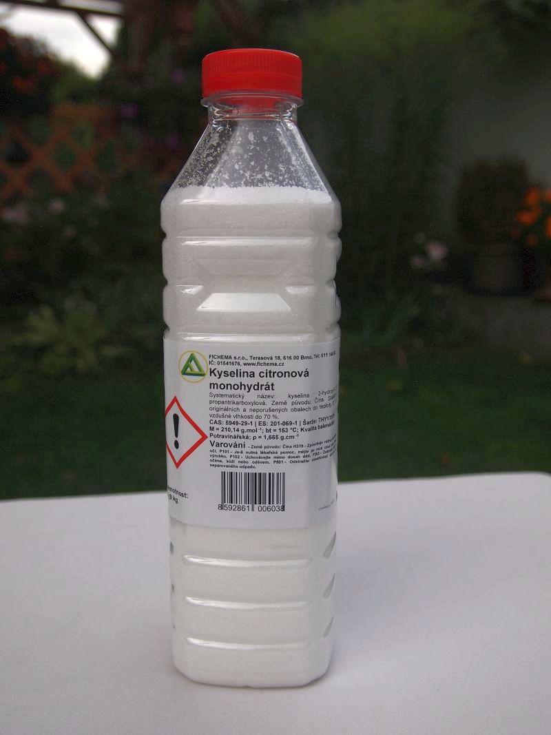 Kyselina citrónová 0,9 kg
