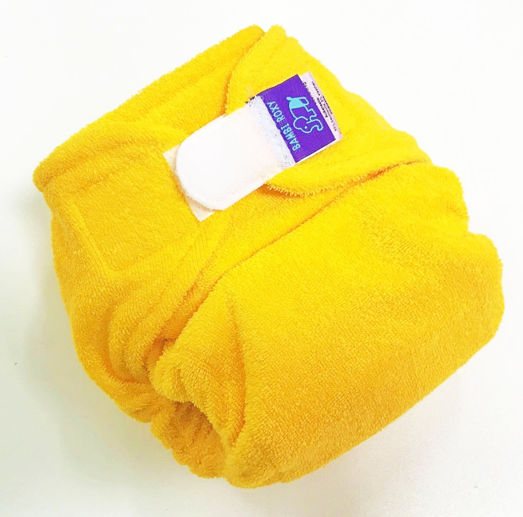 Kalhotová plena Bambi Roxy  BAMBI SOFT STRETCH na SZ - Yellow