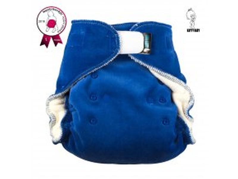 Noční kalhotová plena Katyv Baby na suchý zip - Tmavě modrá (Noční kalhotová plena na sz)