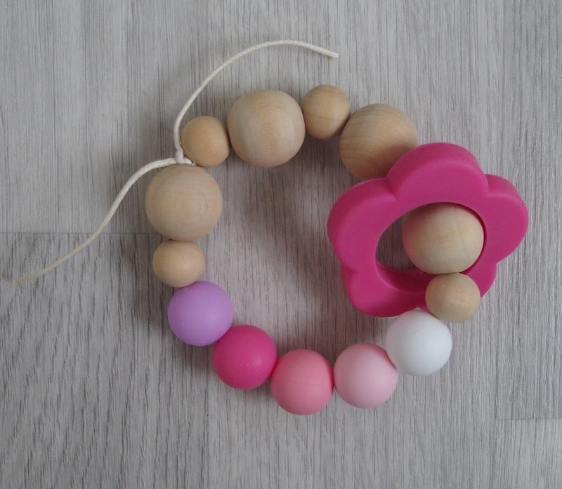 Kousátko LoveFlowers (Kousátko a hračka v jednom)