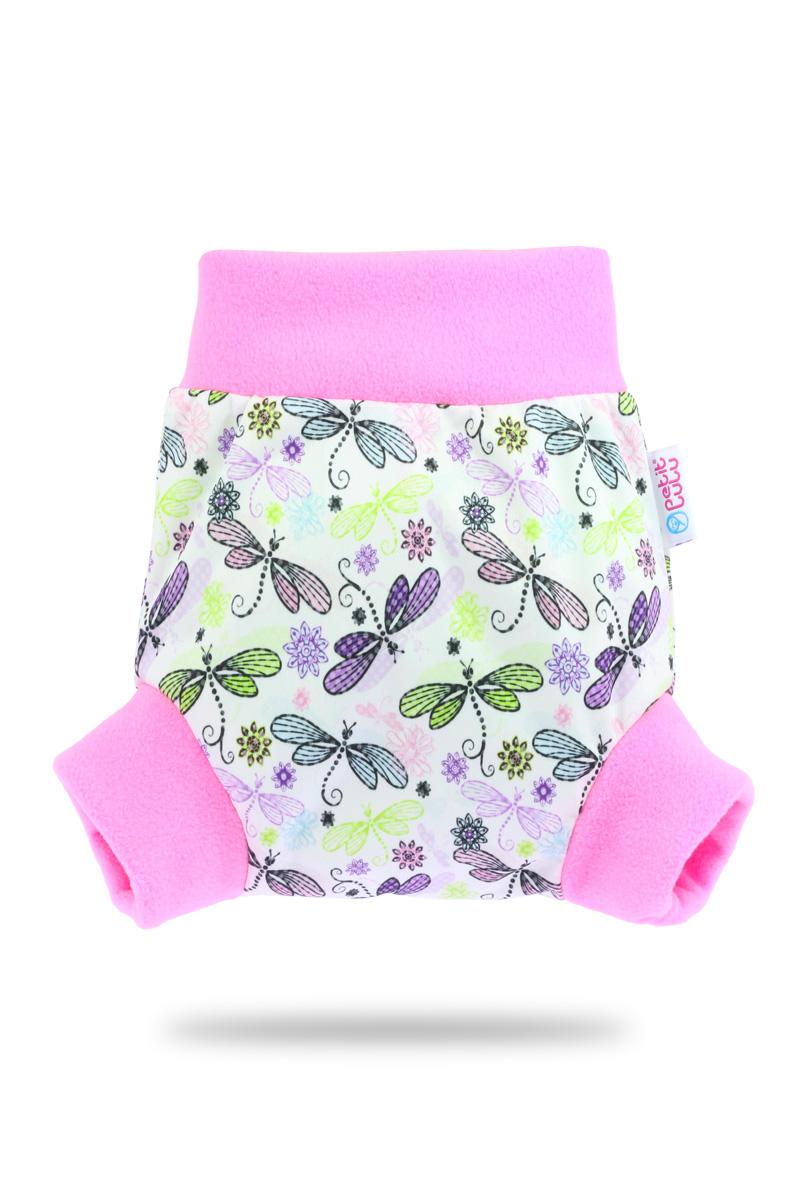 Natahovací svrchní PUL kalhotky Petit Lulu vel. M - Vážky (Pull-up svrchní kalhotky velikost M)