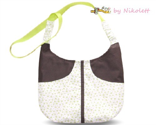 Kabelka Green flowers bag